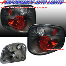 Set of Pair Smoke Taillights for 2001-2003 Ford F-150 SuperCrew Flareside Bed