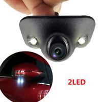 Waterproof 170° HD Car Front/Side/Rear View Blind Spot Camera 2 LED Night