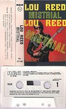 LOU REED Mistrial DIFFICULT SPANISH CASSETTE 1986 SPAIN