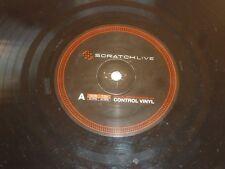 "Scratch Live-Control Vinyl-UK 2-track 12"" vinyl single"
