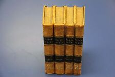 THE WORKS OF ALEXANDER POPE. 4 Vol. London: A.J.Valpy 1835 Hardcover 1st Edition