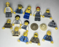 Lego Cops and Robbers Minifigures Lot!