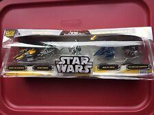 Star Wars Titanium Series Die Cast Metal Vehicle Set with Raw Metal AT-RT Hasbro