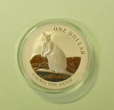 Australien 1 Dollar Känguru Silver Kangaroo 2012 AG BU RAM in Originalkapsel