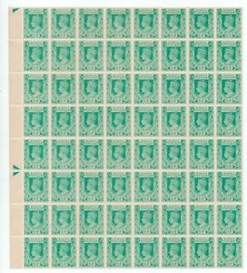 BURMA KGVI 1 1/2a *** SUPERB M N H BLOCK of 64 ***