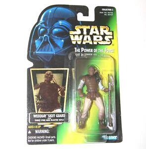 Star Wars POTF Figure - WEEQUAY 'Skiff Guard'