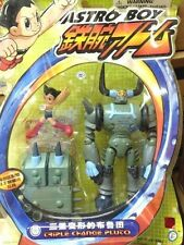 Bandai Action figures - Astro Boy vs Triple change Pluto transformable 7 inches