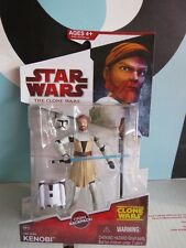 Star Wars Action Figure The Clone Wars Obi Wan Kenobi CW19