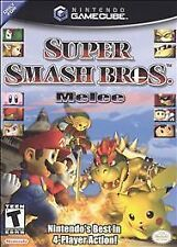 Super Smash Bros. Melee (Nintendo GameCube, 2001) Complete w/Manual