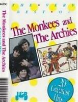 THE MONKEES AND THE ARCHIES 20 Greatest Hits CD NEW (STORE DISPLAY COPY)