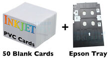 Inkjet PVC ID Card Starter Kit - Epson R280, Artisan 50, RX595, R260 and more