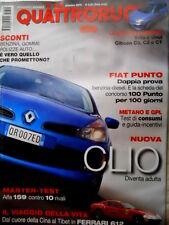 Quattroruote 600 2005 Test: Alfa 159 contro 10 rivali. Ferrari 612. La Clio Q85]