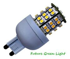 G9 48 SMD LED 240V 3.5W 240LM DIMMABLE WHITE BULB ~45W