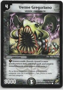 DUEL MASTERS VERME GREGORIANO 31/55 COMUNE THE REAL_DEAL SHOP