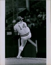 LG814 1970 Orig Jerry Wachter Photo VIDA BLUE Oakland Athletics Baseball Pitcher