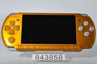 Good SONY PSP-3000BY PSP 3000 Bright Yellow Playstation portable DHL 843858