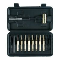 GUNSMITH PUNCH SET 12 PIECE WITH BRASS MALLET (AIMPSH13)