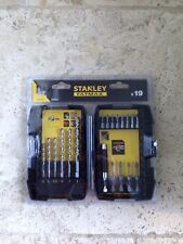 Stanley FatMax 19 Piece Masonary Drill & Screwdriver Bit Set.