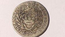 20 grana tari' Ferdinando IV Napoli 1793 N.C. argento primo periodo (1759-1799 )