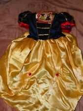 DISNEY GIRLS SNOW WHITE REVERSIBLE DRESS 5-6 YRS