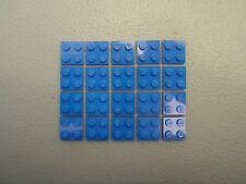 LEGO NEW Black Plate 1x4 Lot x20 Star Wars Super Heroes Ninjago Space Parts 3710
