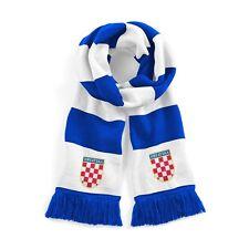 Retro Croatia Traditional  Football Scarf Embroidered Logo