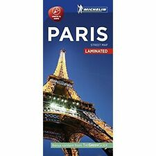 Paris - Citymap Laminated: 2016 by Michelin Travel Publications (Sheet map, folded, 2016)