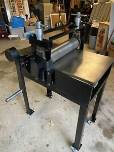1967 Charles Brand Etching Intaglio Printing  Press Early Model All Original