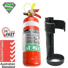 1kg Fire Extinguisher Abe Dry Powder With Plastic Bracket Kitchen Car Boat 4WD