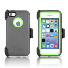 OtterBox Defender iPhone 5C Case & Holster Cucumber Green / Gray OEM Original