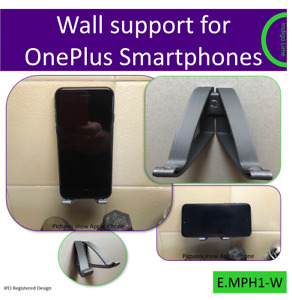Wall mount for OnePlus Smartphones. Made in the UK by us