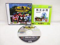 WINNING POST Mega CD Sega Genesis Import JAPAN Game mc