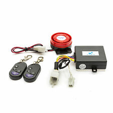 Motorcycle Motor Bike Alarm Immobiliser Remote Start Siren Motor Cycle Scooter