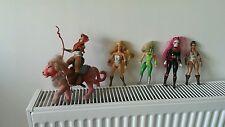 Vintage Rare Mattel She-ra Princess Of Power figures 1980's Lot