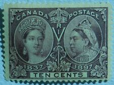 Canada 1897 10 Cent Unused No Gum  SG 131 cat £90