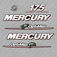 Mercury 175HP EFI Decal Outboard Reproduction 3 Piece Marine Vinyl 1997 1996-98