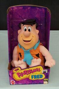The Flintstones Fred Flintstone Doll Mattel Toy  c1993 Boxed