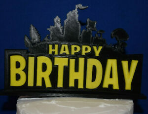 FORTNITE video game Inspired ~ Cake Topper Top Birthday ~ 3D Printed USA