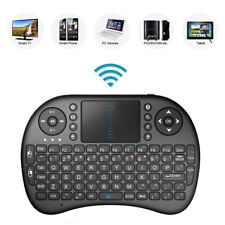 "2.4GHz Wireless Keyboard with Touch Pad For JVC LT-39C770 39"" SMART TV"
