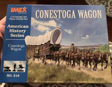 Imex 1/72 Conestoga Wagon 518 761963005180 NOB American history Series Covered