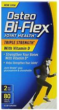 Osteo Bi-Flex Triple Strength + Vitamin D, Coated Tablets 80 ea