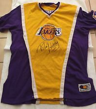 Robert Horry 96-97 Signed Game Used Warm Up with Lakers Auction House Hologram