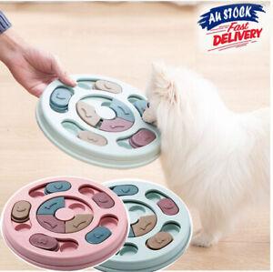 Puzzle Toy Dog Food Pet Supply Treat Dispenser Training Feeder Interactive Puppy