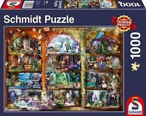 Fairytale Magic: Schmidt Premium Collection Jigsaw Puzzle 1000 p'ce 58965