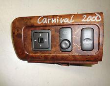 Interruptor LWR Ajuste de espejo & abatible Espejo exterior Kia Carnival Año 00