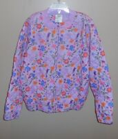Disney Tangled Purple Quilted Jacket Girls Rapunzel Size 9/10 New 9 10