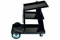 Power-Tec Welding Welder Trolley Cart Storage Pushalong 4 Wheels 92414