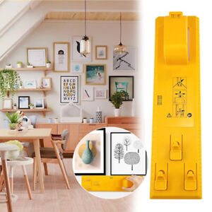 Picture Hanging Tools Frame Hanger Easy Wall Photo Hanging Kit Level Ruler AU