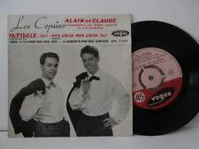 """les copains alain et claude""""infidele""""ep7""""or.fr.vogue:epl:7927.de 1962 biem"""