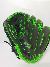 FRANKLIN BLACK AND GREEN FAST PITCH SOFTBALL GLOVE